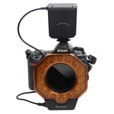 SHOOT SL-103C Macro LED DSLR Camera Ring Flash for Canon Digital SLR Cameras Accessories