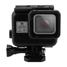 SHOOT Cool Dark Waterproof Case  Diving Camera Waterproof Housing Case for Gopro HD Hero 5 6 7 Black