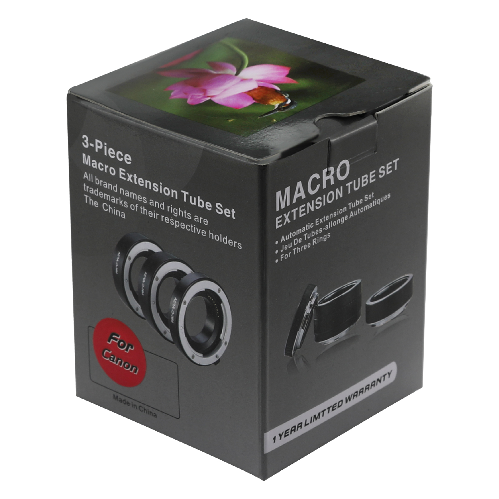 Macro Extension Tube For Camera Dslr